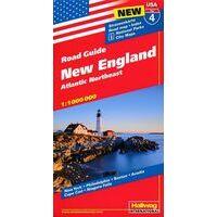 Hallwag Wegenkaart 04 New England