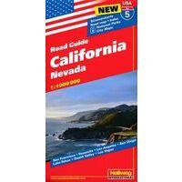 Hallwag Wegenkaart 05 California - Californië