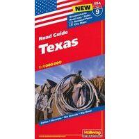 Hallwag Wegenkaart 09 Texas