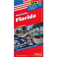 Hallwag Wegenkaart 11 Florida