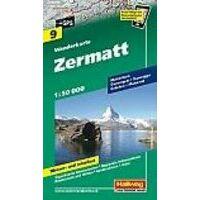 Hallwag Wandelkaart 09 Zermatt