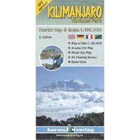 Harms Maps Kilimanjaro 1:100.000