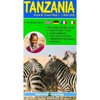 Harms Maps Wegenkaart Tanzania