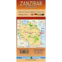 Harms Maps Wegenkaart Zanzibar
