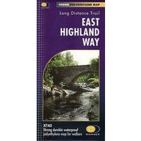 Harvey Maps Wandelkaart XT40 East Highland Way