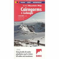 Harvey Maps Klimkaart XT40 Cairngorms & Lochnagar