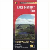 Harvey Maps Wandelkaart XT25 Lake District East