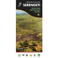 Harvey Maps Serengeti Official Map & Visitor Guide