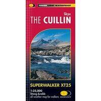 Harvey Maps Wandelkaart XT25 Skye - The Cuillin