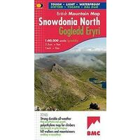 Harvey Maps Klimkaart XT40 Snowdonia North