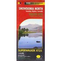 Harvey Maps Wandelkaart XT25 Snowdonia North