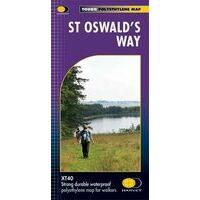 Harvey Maps Wandelkaart XT40 St Oswald's Way