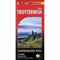 Harvey Maps Wandelkaart XT25 Skye - Trotternish