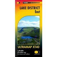 Harvey Maps Wandelkaart Ultramap XT40 Lake District East
