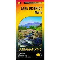 Harvey Maps Wandelkaart Ultramap XT40 Lake District North