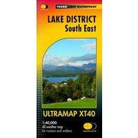 Harvey Maps Wandelkaart Ultramap XT40 Lake District South East