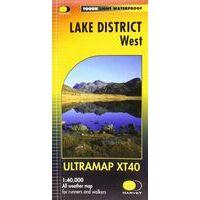 Harvey Maps Wandelkaart Ultramap XT40 Lake District West
