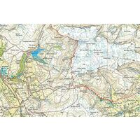 Harvey Maps Wandelkaart Ultramap XT40 Peak District Central