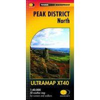 Harvey Maps Wandelkaart Ultramap XT40 Peak District Noord