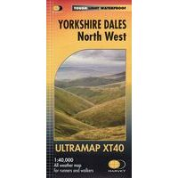Harvey Maps Wandelkaart Ultramap XT40 Yorkshire Dales North West
