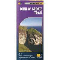 Harvey Maps Wandelkaart XT40 John O'Groats Trail