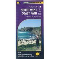 Harvey Maps Wandelkaart XT40 South West Coast Path Deel 2