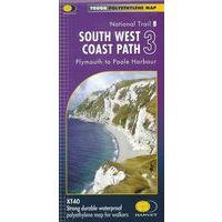 Harvey Maps Wandelkaart XT40 South West Coast Path Deel 3