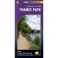 Harvey Maps Wandelkaart XT60 Thames Path