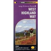 Harvey Maps Wandelkaart XT40 West Highland Way