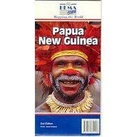 HEMA Landkaart Papoea-Nieuw-Guinea 1/2,1M