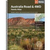 HEMA Maps Wegenatlas Australië Handy B5-formaat