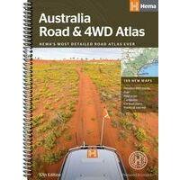 HEMA Maps Wegenatlas Australie Road & 4WD