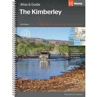 HEMA Wegenatlas En Gids The Kimberley