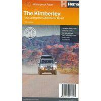 HEMA Wegenkaart The Kimberley