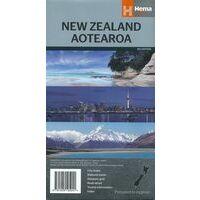 HEMA Wegenkaart Nieuw-Zeeland Aotearoa