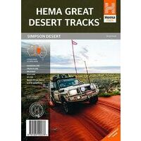 HEMA Wegenkaart Simpson Woestijn