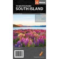 HEMA Wegenkaart Nieuw-Zeeland Zuidereiland