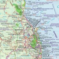HEMA Wegenkaart Queensland Noord