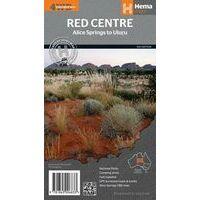 HEMA Wegenkaart Red Centre Australië