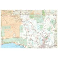 HEMA Wegenkaart South Australia Handy Map