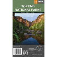 HEMA Wegenkaart Top End National Parks 1:350.000