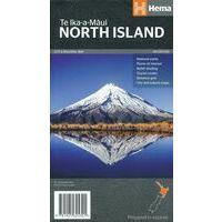 HEMA Wegenkaart Nieuw-Zeeland Noordereiland