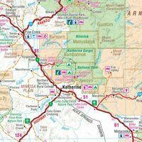 HEMA Wegenkaart Northern Territory State Handy