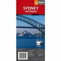 HEMA Wegenkaart Sydney & Omgeving 1:241.000