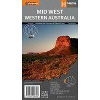 HEMA Wegenkaart Mid West Western Australia