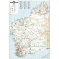 HEMA Wegenkaart Western Australia State Map