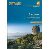 Hikeline Wandelatlas Sardinië - Sardinien