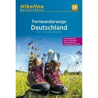 Hikeline Wandelgids Fernwanderwege Deutschland