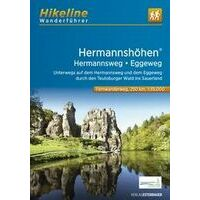 Hikeline Wandelgids Hermannshöhen - Hermannsweg