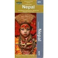 HMH Nepal Trekking Map 1:950.000
